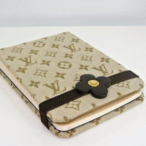 Louis Vuitton LV Monogram Mini Lin Notebook